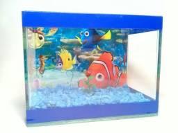 Aquario PARA peixe betta besteira MEDIDAS 16X12X9