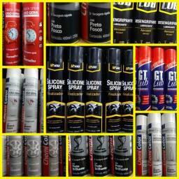 Tintas uso geral, silicone spray