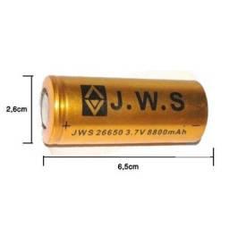 (WhatsApp) bateria recarregável 12000 mah 4.2v- 26650
