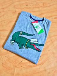 Camisas Adidas e Lacoste