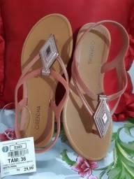 Sandálias Grendha- Todas no tamanho 36