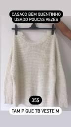 Casaco Suéter Inverno TAM P/M
