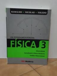 Título do anúncio: Livro Os fundamentos da física 3