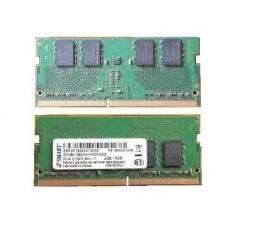 Duas Memórias RAM 4GB 2133mhz DDR4 (8 GB Total) para Notebook