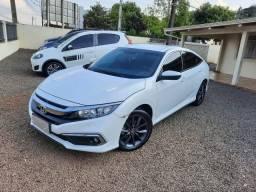 Honda \ Civic 2.0 Flex ( EXL ) Único Dono Cheirando a Nova / Impecável / Ano 2020