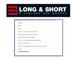 Long Short Cointegração