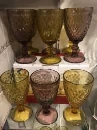 Título do anúncio: Taça de vidro bico de abacaxi unidade
