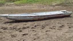 Canoa de alumínio para motor de polpa 15hp
