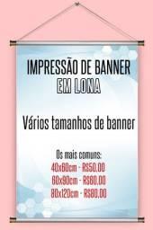 Título do anúncio: Banner em lona