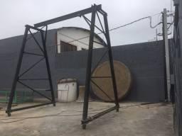 Portico em aço, p/ 3 tn