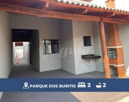Título do anúncio: Casa com 2 quartos e varanda gourmet no Residencial Parque dos Buritis, Senador Canedo.