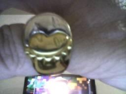 Anéis ouro três 18K novos com total 15.1gr