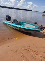 Lancha bass boat 258