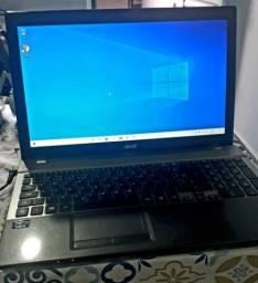notebook Acer i5 6gb de ram  funcionando ok