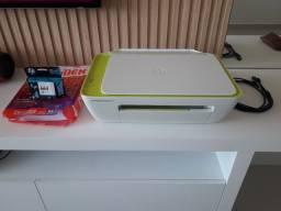 ESCUTO OFERTAS. Impressora HP ink Advantage 2136 + Cartucho original NOVO + folhas A4