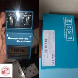 Pedal CSR compressor sustain