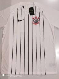 Camisa Corinthians Home - Jogador - Nike 19/20 - Tamanho: GG