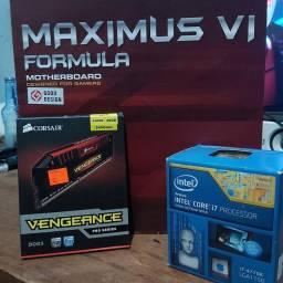 Kit Gamer Intel i7 16Gb Placa Mãe Asus Maximus Formula
