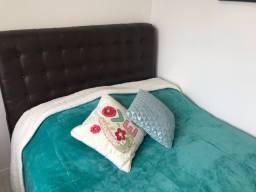 Cabeceira courino para cama de CASAL