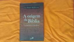 A origem da Bíblia! Em Ótimo estado! Informações na descrição!