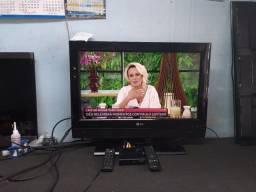 "TV LG 26"" LCD ANALÓGICA  +  CONVERSOR INTELBRAS..!!!"