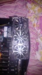 Placa de video AMD Rx 480 Strix gaming OC 8gb