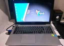 Notebook Asus X555lf I7 5500 5ª Geração 6gb HD 1tb c/ fonte original