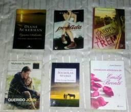 6 livros por r$ 40,00!