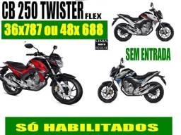 Honda CB Twister CBS 2019 sem entrada - 2018