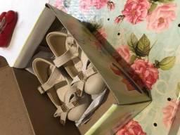 Sapato infantil feminino Meli tamanho 16
