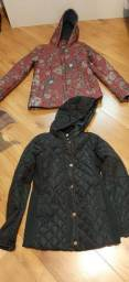 Duas jaquetas tamanho 12