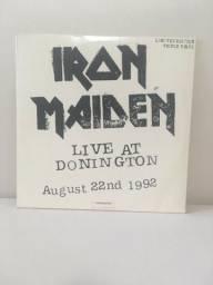Álbum triplo do Iron Maiden vinil