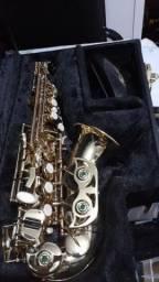 Saxofone soprano curvo AEGLE Zerado