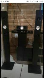 Vendo home theater Philips de 800 w4 torres