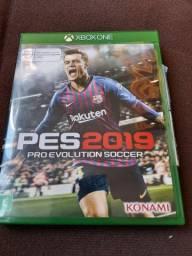 Jogo PES 2019 X BOX ONE usado