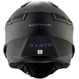 Capacete Norisk Darth Fs726x Preto Fosco Ou Titânio Fosco 4 Em 1