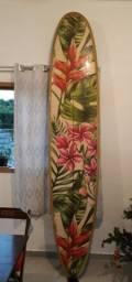 Longboard 9,4 Havaiano novíssimo!! Lindo!
