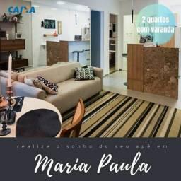 Maria Paula 02 qts financiamento Caixa vaga e lazer financiamento Caixa