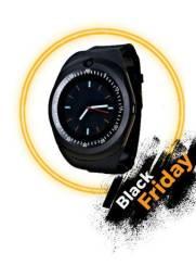 Relógio Smartwatch celular chip e cartão câmera