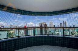 Apartamento com 3 quartos para alugar, 114 m² por R$ 3.560/mês - Boa Viagem - Recife