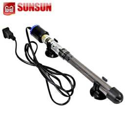 Termostato com aquecedor para aquário 500w Sunsun