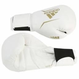 Luva Boxe Adidas e Caneleira