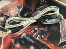 Adaptador USB midi