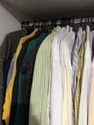 Lote camisas social + brinde