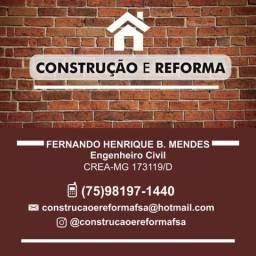 Construção e reforma. Construa com quem entende!