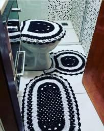 Kit Banheiro de crochê