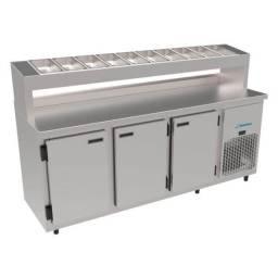 Condimentadora refrigerada 1,90 *douglas