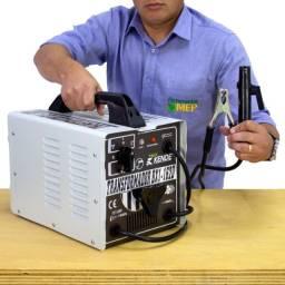 Máquina de solda elétrica transformador 160 amperes Bivolt