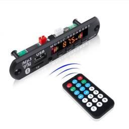 Módulo Bluetooth USB com controle remoto