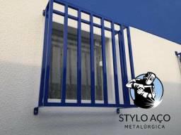 Portões, grades de proteção e portas de elevação